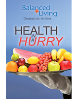 Health in a Hurry - Balanced Living Tract (Pack of 25)