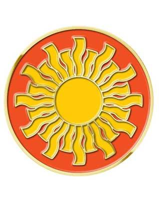 Sunbeam Pin