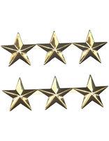 Estrellas de liderazgo para Director de Asociación (Set de tres estrellas)