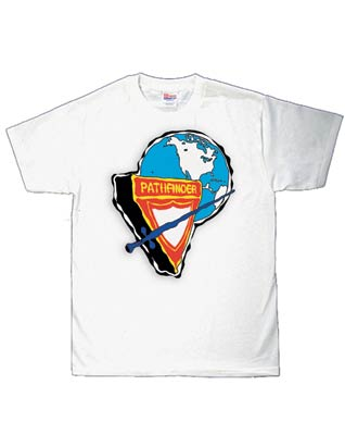 Pathfinder T-shirt with NAD Logo--white