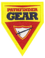 Parche Triangular de Pathfinder Gear -