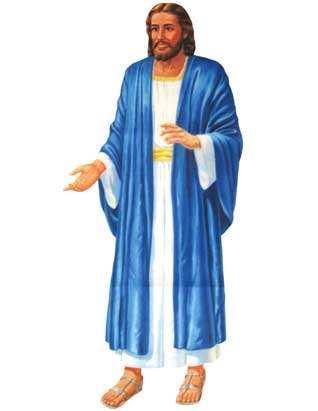 Jesus Standing (Small) - 26