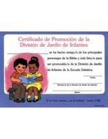 Certificados de Promoción: Jardín de Infantes (10)