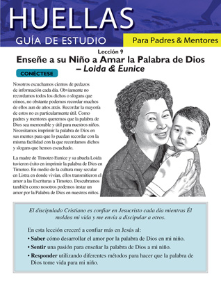 Footprints for Parents and Mentors Study Guide Lesson 9 (Spanish)
