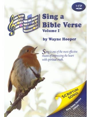 Sing a Bible Verse Volume 1
