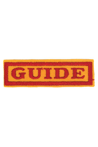 Guide Class Name Strip