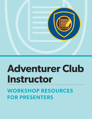 Adventurer Club Instructor Certification Presenter's Guide