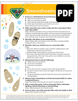 Builder Snowshoeing Award - PDF Download