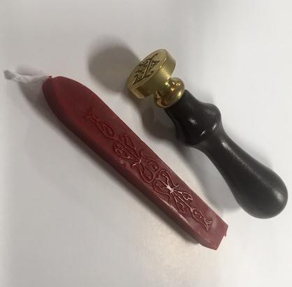 Brass Wax Seal