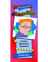 41 Bible Studies/#10 Loneliness, Depression, & Discouragement (Spanish)