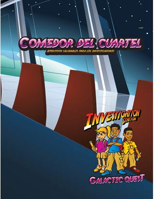 Galactic Quest VBS - Mess Hall Leader's Guide (Snacks) Spanish