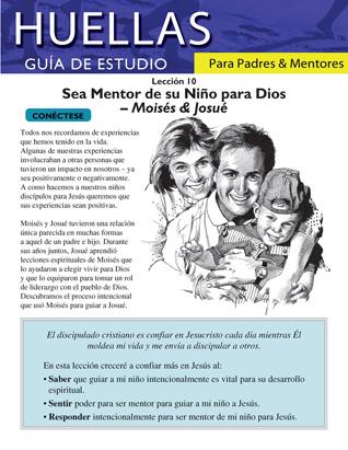 Guía de Huellas para padres y mentores - Lección 10