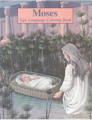 Moses Sign Language Coloring Book