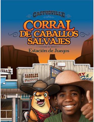 Cactusville VBX Wild Horse Corral - Spanish