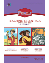 Growing Together Primary Posters - 4th Quarter