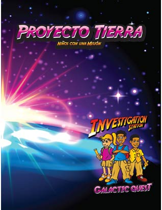 Galactic Quest VBS - Project Earth Leader's Guide (Mission) Spanish