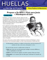Footprints for Parents and Mentors Study Guide Lesson 11 (Spanish)