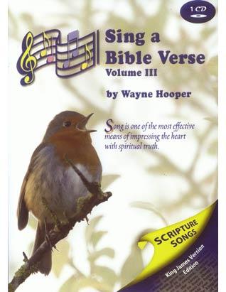 Sing a Bible Verse Volume 3