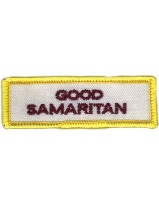 Emblema Buen samaritano