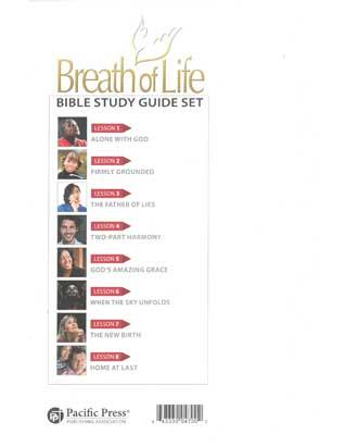 Breath of Life Lessons - set of 8