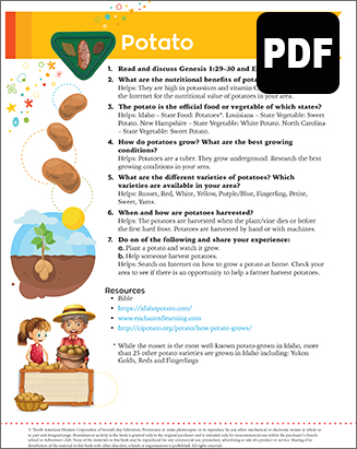 Multilevel Potato Award - PDF Download
