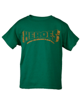 Heroes VBS Kelly Green Youth T-Shirt