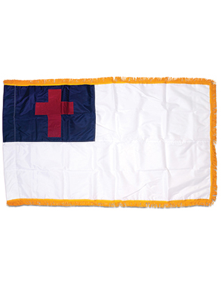 Christian Flag 3' x 5' (Indoor)
