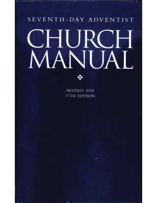 Seventh-day Adventist Church Manual Revised 2015 - Paperback